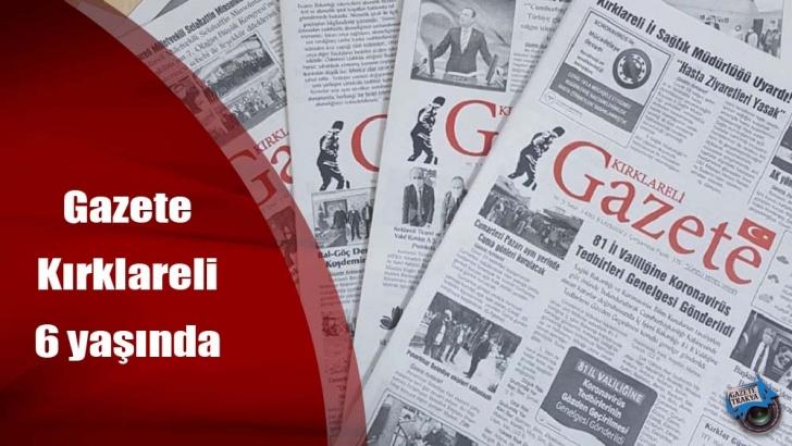 gazete kirklareli 6 yasinda gazete trakya